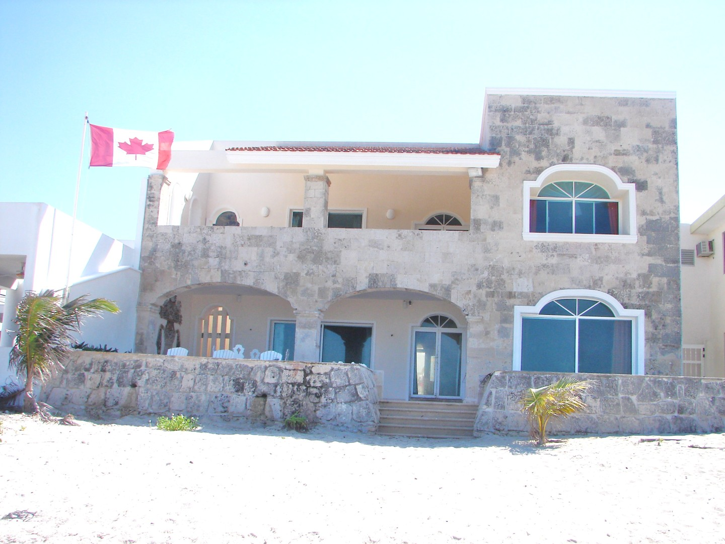 Beach View of Villa.JPG